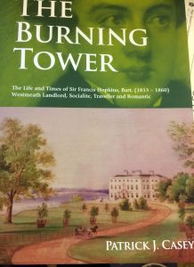 Book Launch The Burning Tower by Patrick j Casey